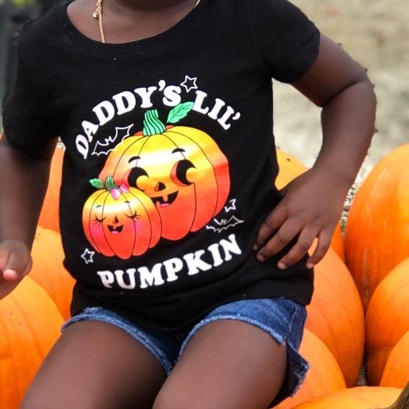 Other - Daddy's lil pumpkin shirt